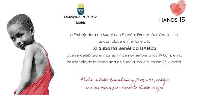 Invitacion subasta hands 2015
